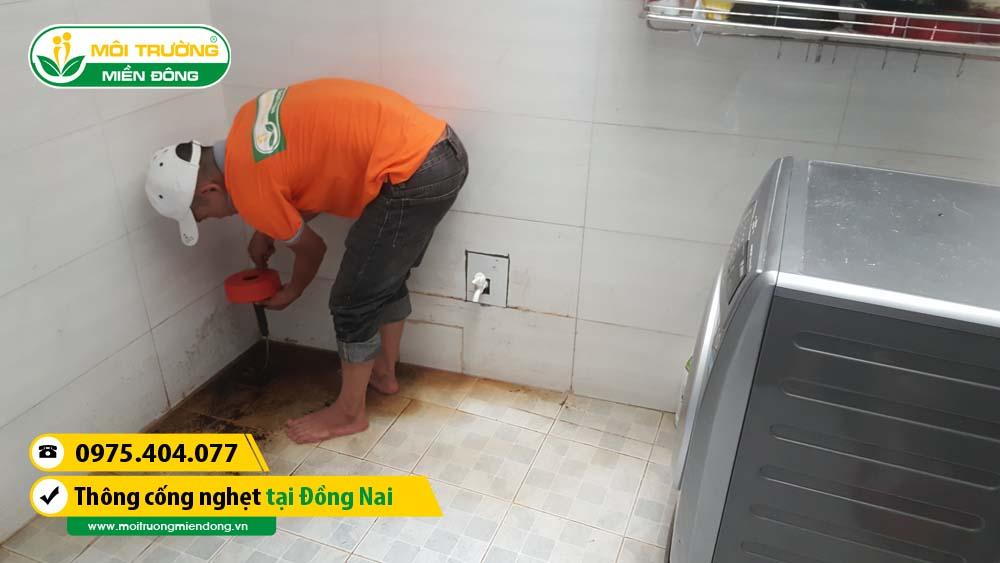 Dịch vụ thông cống nghẹt tỉnh Đồng Nai