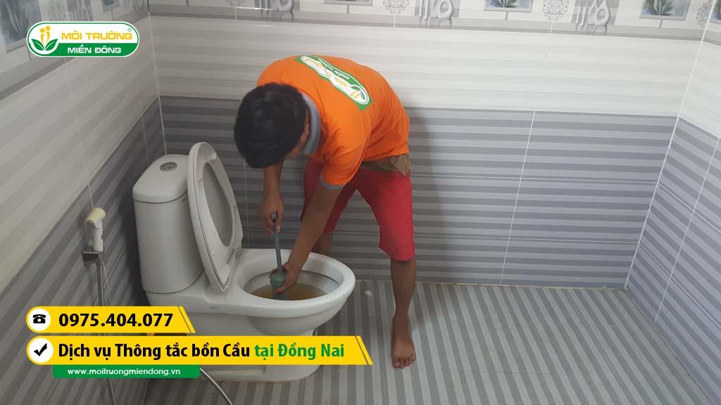 Dịch vụ thông tắc bồn cầu tỉnh Đồng Nai