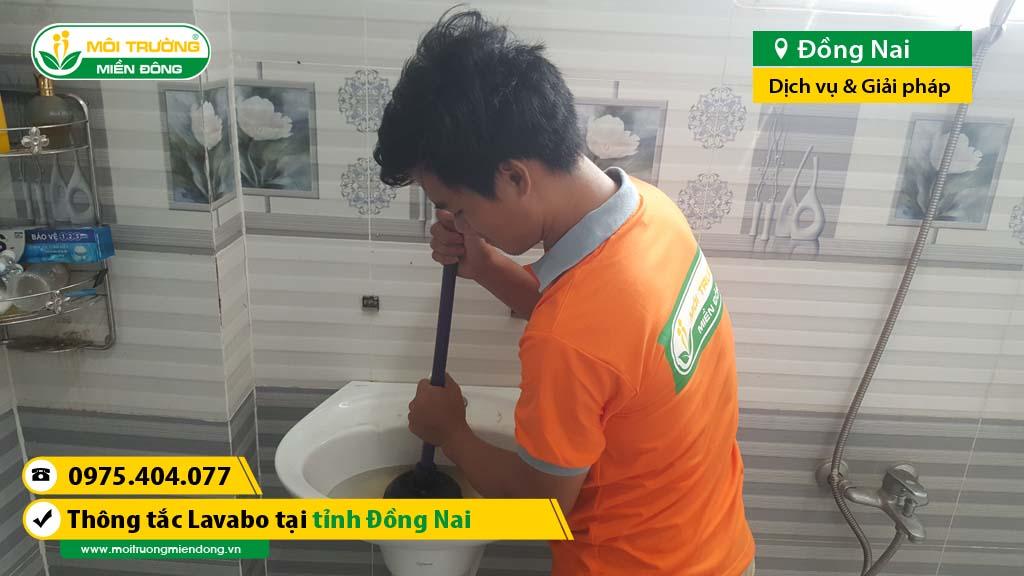 Môi Trường Miền Đông mách cho bạn các địa chỉ thông tắc lavabo nam uy tín, đúng cam kết hợp đồng mà giá lại siêu rẻ ở Đồng Nai.