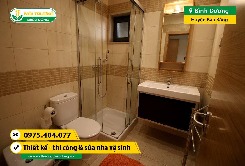 Thi công xây dựng, sửa chữa nhà Vệ Sinh WC tại Huyện Bàu Bàng, Bình Dương ☎ 0975.404.077 #moitruong #vietnam #Environmental #việtnam #wc #nhavesinh #BìnhDương