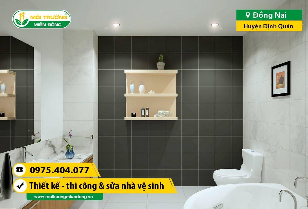 Thi công xây dựng, sửa chữa nhà Vệ Sinh WC tại đường DT 761, Huyện Định Quán, Đồng Nai ☎ 0975.404.077 #moitruong #vietnam #Environmental #việtnam #wc #nhavesinh #ĐồngNai