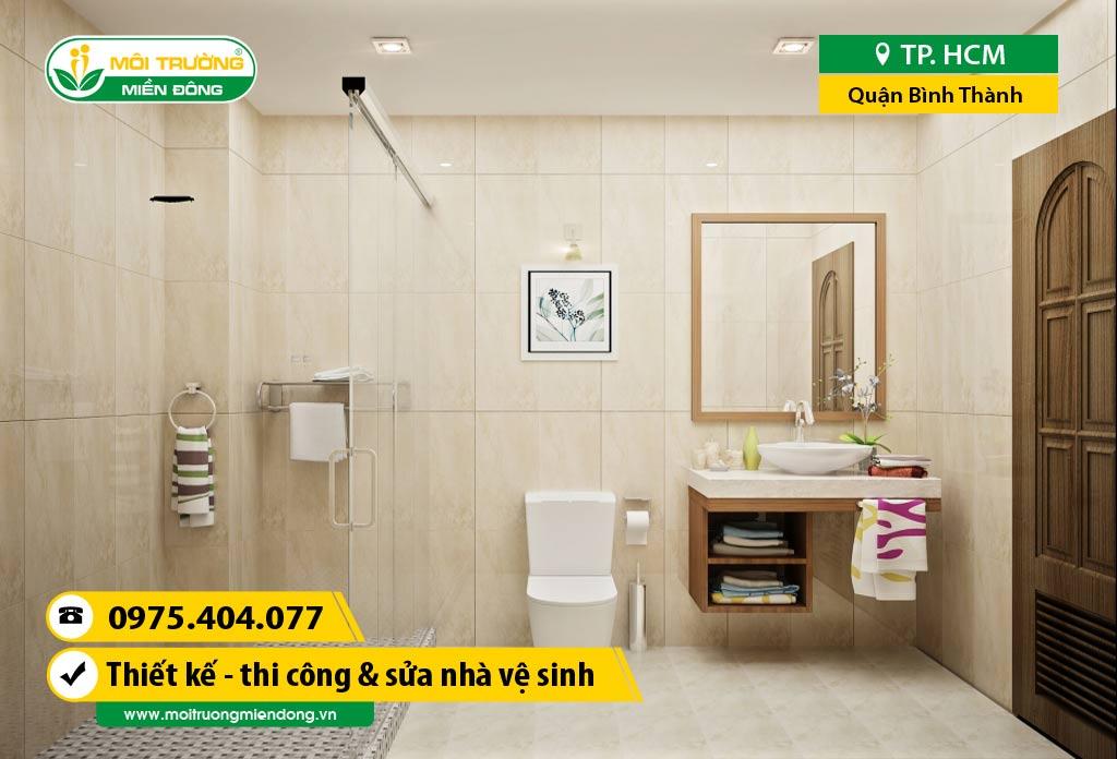 Thi công xây dựng, sửa chữa nhà Vệ Sinh WC tại Quận Bình Thạnh, HCM ☎ 0975.404.077 #moitruong #vietnam #Environmental #việtnam #wc #nhavesinh #HCM
