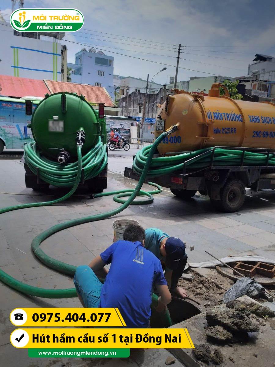 Dịch vụ rút hầm cầu tắc tên tuyến đường huyết mạch gây ngập lụt khi gặp mưa lớn tại Đồng Nai ☎ 0975.404.077 #moitruong #vietnam #Environmental #việtnam #huthamcau #ruthamcau #binhduong