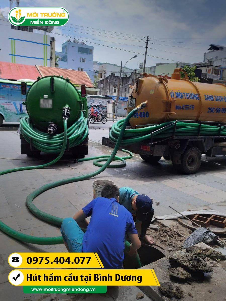 Dịch vụ rút hầm cầu tắc tên tuyến đường huyết mạch gây ngập lụt khi gặp mưa lớn tại Bình Dương ☎ 0975.404.077 #moitruong #vietnam #Environmental #việtnam #huthamcau #ruthamcau #hcm #HồChíMinh
