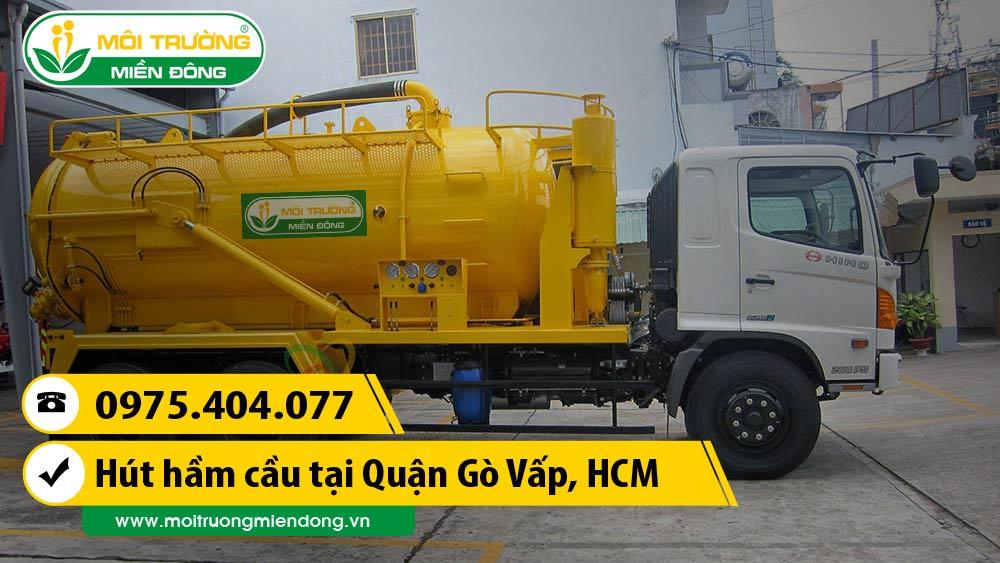 Dịch vụ hút hầm cầu Quận Gò Vấp