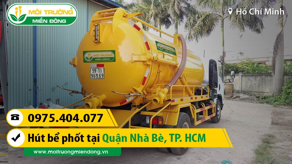 Công Ty Dịch Vụ hút bể phốt tại đường Phước Lộc, Huyện Nhà Bè, TP. HCM ☎ 0975.404.077 #moitruong #vietnam #Environmental #việtnam #hutbephot #HCM