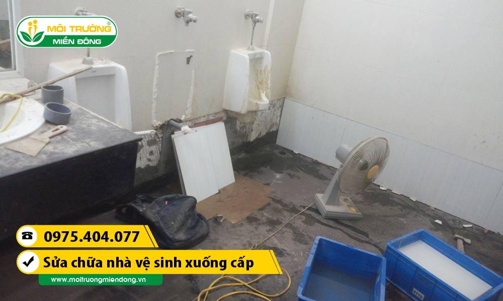 Dịch vụ sửa chữa nhà vệ sinh xuống cấp tại Thành phố Thủ Dầu Một, Bình Dương ☎ 0975.404.077 #moitruong #vietnam #Environmental #việtnam #wc #nhavesinh #BìnhDương