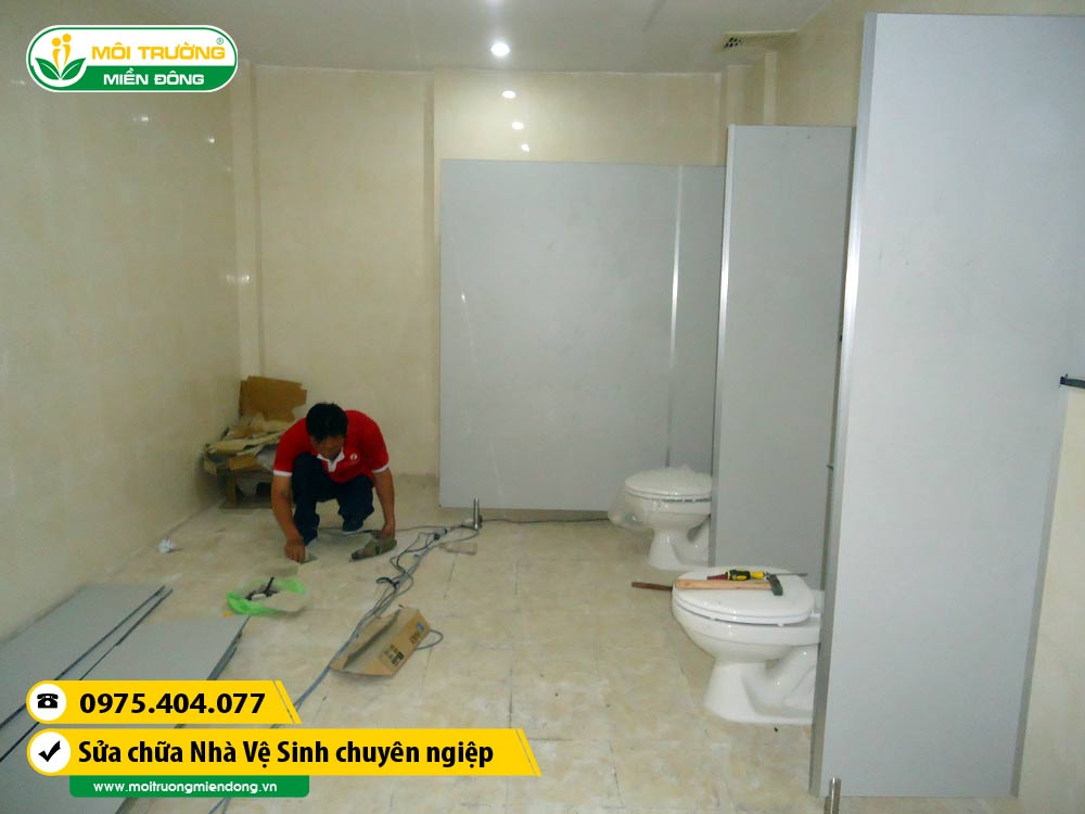 Dịch vụ sửa chữa thi công vách ngăn nhà vệ sinh tại Thành phố Thủ Dầu Một, Bình Dương ☎ 0975.404.077 #moitruong #vietnam #Environmental #việtnam #wc #nhavesinh #BìnhDương