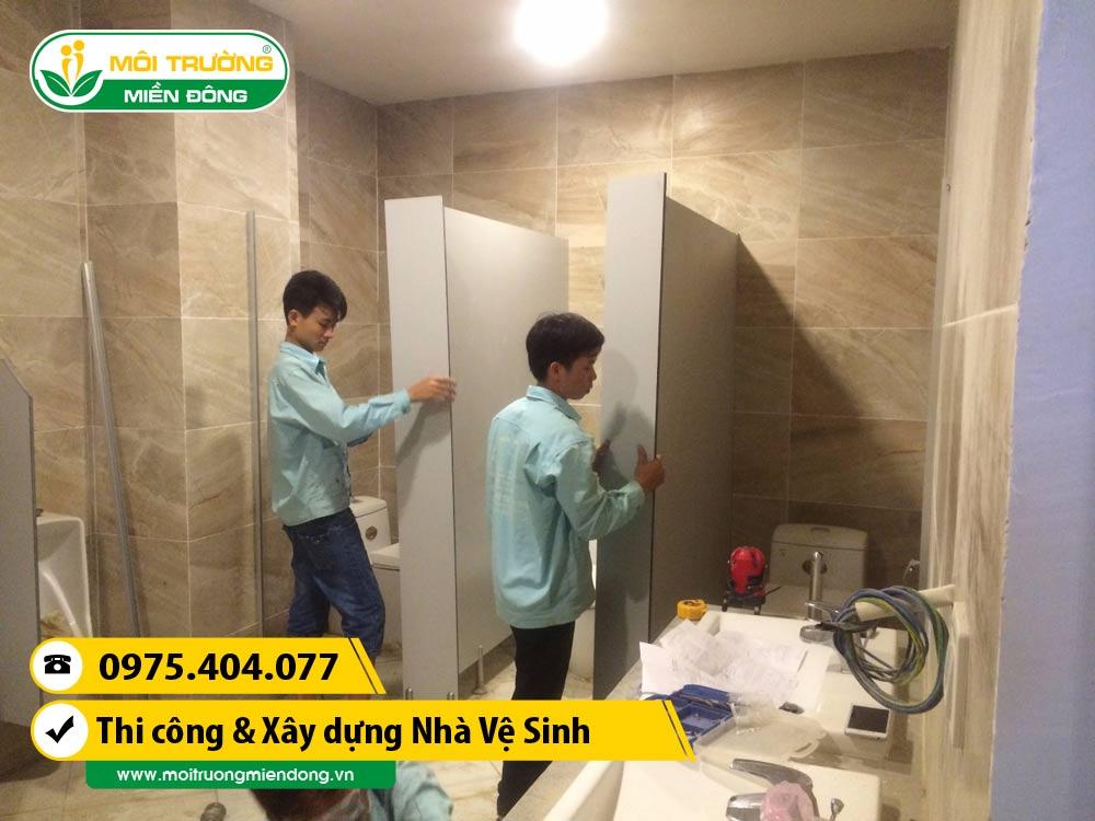 Thi công xây dựng vách ngăn nhà vệ sinh phòng WC tại Thành phố Thủ Dầu Một, Bình Dương ☎ 0975.404.077 #moitruong #vietnam #Environmental #việtnam #wc #nhavesinh #BìnhDương